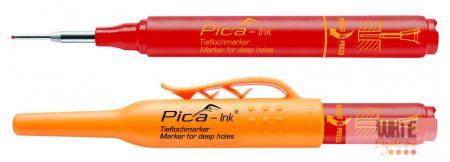 Pica Ink mély-lyuk marker, piros, 1 darab
