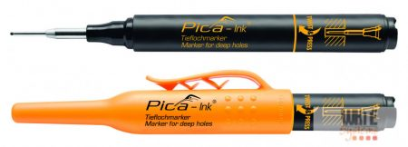 Pica Ink mély-lyuk marker, fekete, 1 darab
