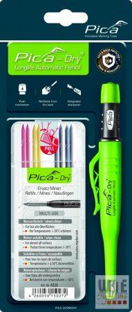 Pica Dry jelölőmarker 1 db / 1 db 4020 utántöltő hegy / vegyes színek / blister csomag