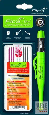 """Pica Dry jelölőmarker 1 db /1 db 4070 utántöltő hegy / """"nyári"""" színek / blister csomag"""