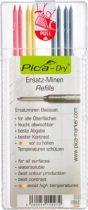 PICA-DRY® jelölőmarker betét, letörölhető, vegyes színek, 1 csomag