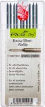 PICA-DRY® jelölőmarker betét, letörölhető, grafit, 1 csomag