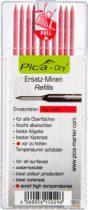 PICA-DRY® jelölőmarker betét, letörölhető, piros, 1 csomag