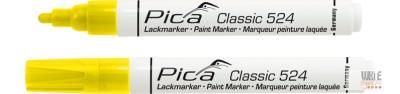 Pica Classic 524 festékes jelölő, sárga, 1 db