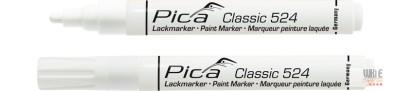 Pica Classic 524 festékes jelölő, fehér, 1 db